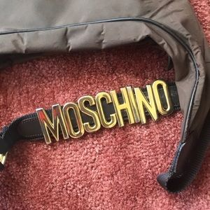 Rare Chocolate Moschino RedWall..Crossbody 💕